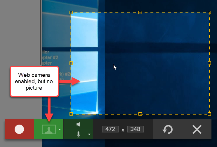 Snagit (Windows): Camera/Microphone Not Working on Windows 10