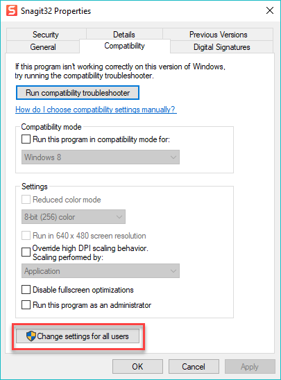 Snagit (Windows): Snagit Does Not Start with Windows – TechSmith Support