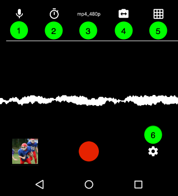 Record Team Videos on Your Mobile Device (Android