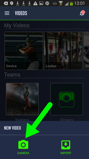 Record a Video and Adjust Your Camera Settings (Android) – TechSmith