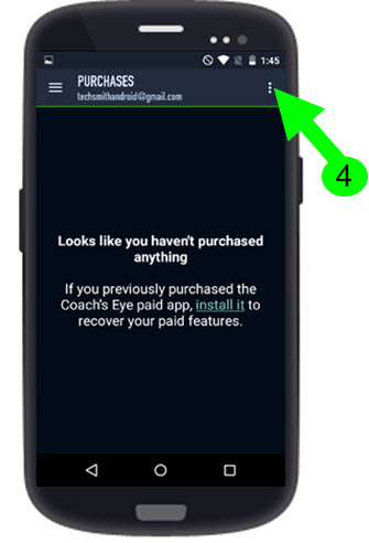 Restoring In-App Purchases (Android) – TechSmith Support