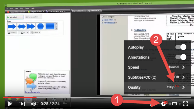 how to add a youtube video to camtasia